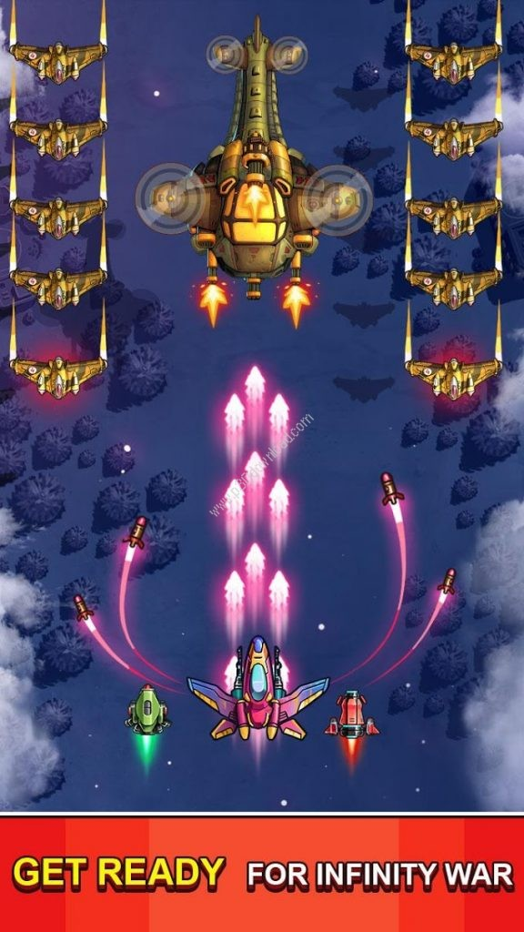 Space Squad Galaxy Attack Screenshot 2