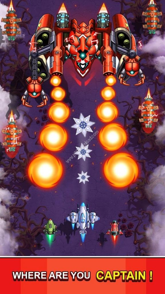 Space Squad Galaxy Attack Screenshot 3