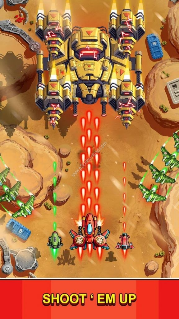 Space Squad Galaxy Attack Screenshot 4